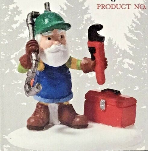 Dept 56 FIXING FROZEN PIPES 809460 NORTH POLE Village Department 56 NEW D56