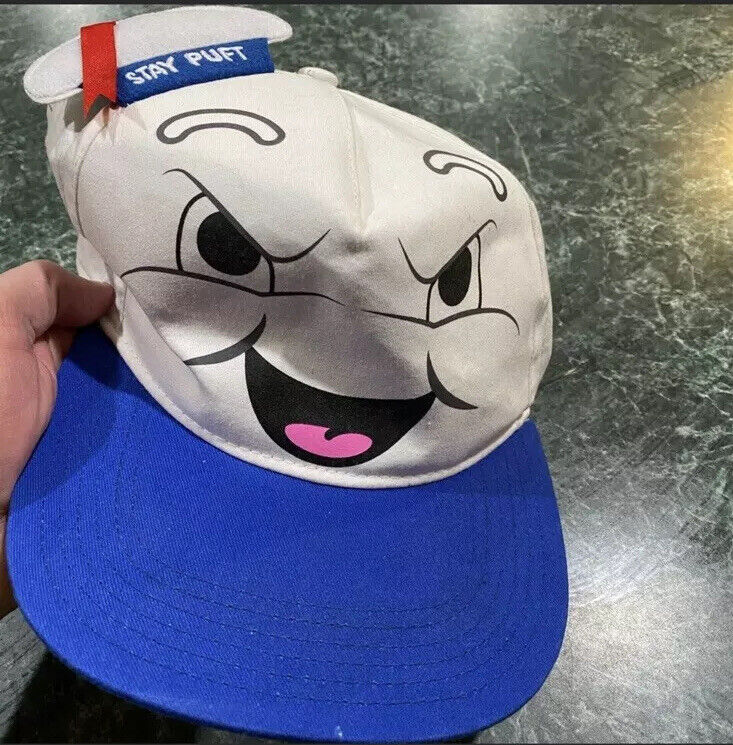 GHOSTBUSTERS STAY PUFT MARSHMALLOW MAN LIMITED EDITION SNAPBACK HAT