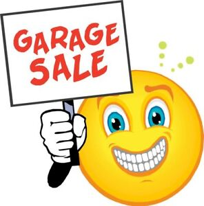Garage Sale Wed to Sat = 101 Dempsey St.
