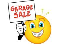 Garage Sale Saturday 27th August