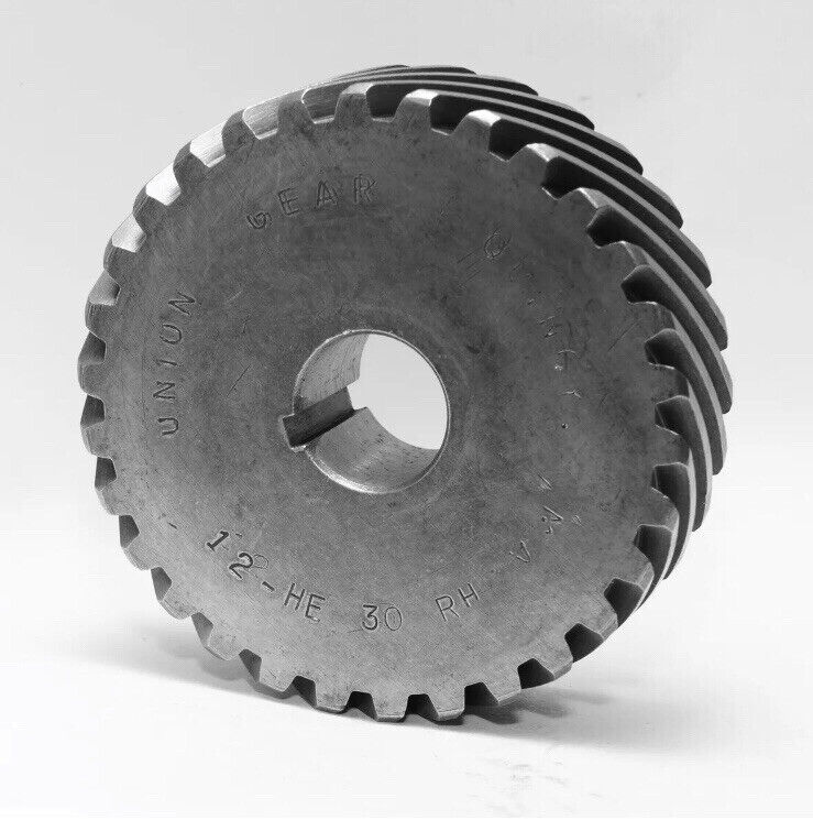 """NEW Union Gear H1230R or 12-HE-30-RH Helical  0.75 """" Bore 12 Pitch 30 Teeth"""