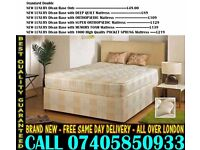 BRAND NEW Double Single King Size Dlvan Bed WITH MATTRESS . Richland