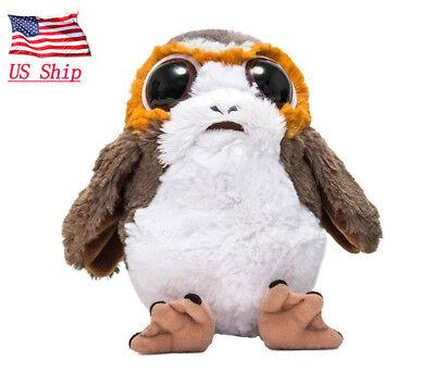 US! Star Wars Porg Plush Toy The Last Jedi Porg Bird Stuffed Model Gift - Stars Wars Gifts