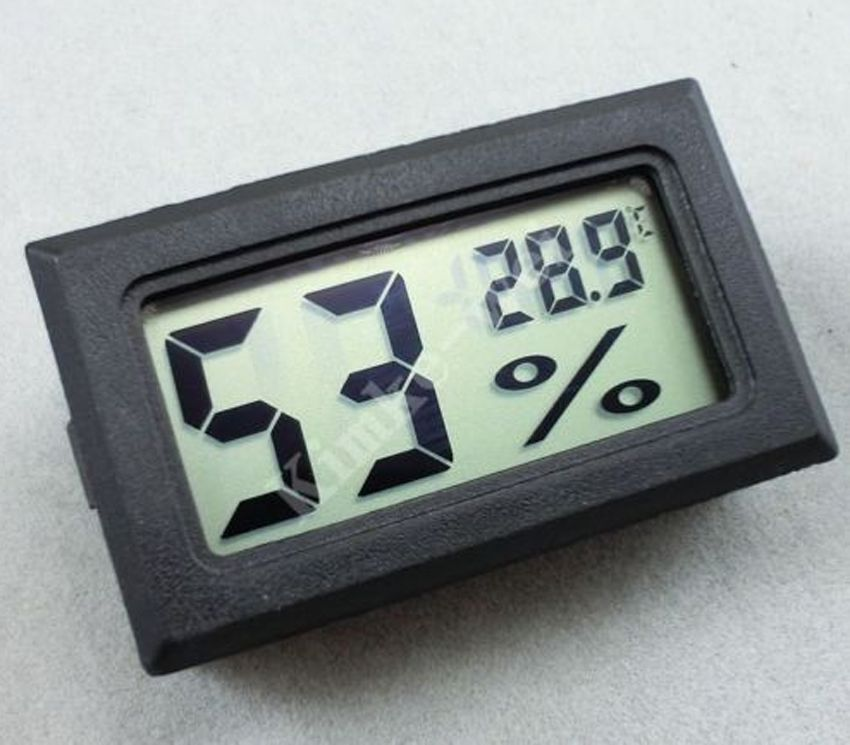 BK Mini Digital LCD Indoor Temperature Humidity Meter Thermometer Hygrometer f