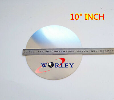 10 Inch 250mm Dia Aluminum Disc Circle Blank Plate Flat Sheet Round 2mm Thick