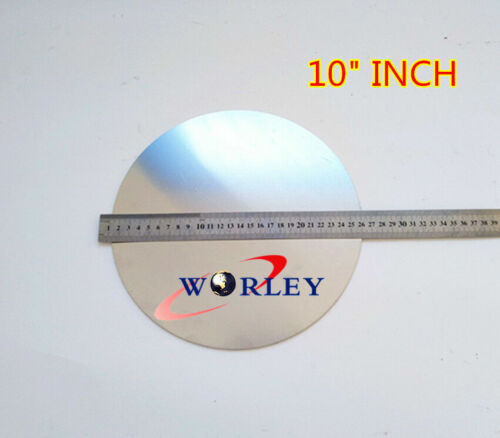 """10"""" inch 250mm DIA Aluminum Disc Circle Blank Plate Flat Sheet Round 2mm Thick"""