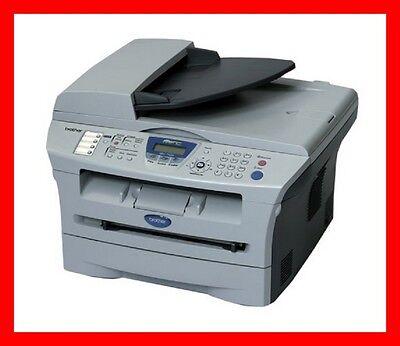 Brother MFC-7420 Printer w/ NEW Toner & NEW Drum -- REFURBISHED !!! Black Laser Copier Drum