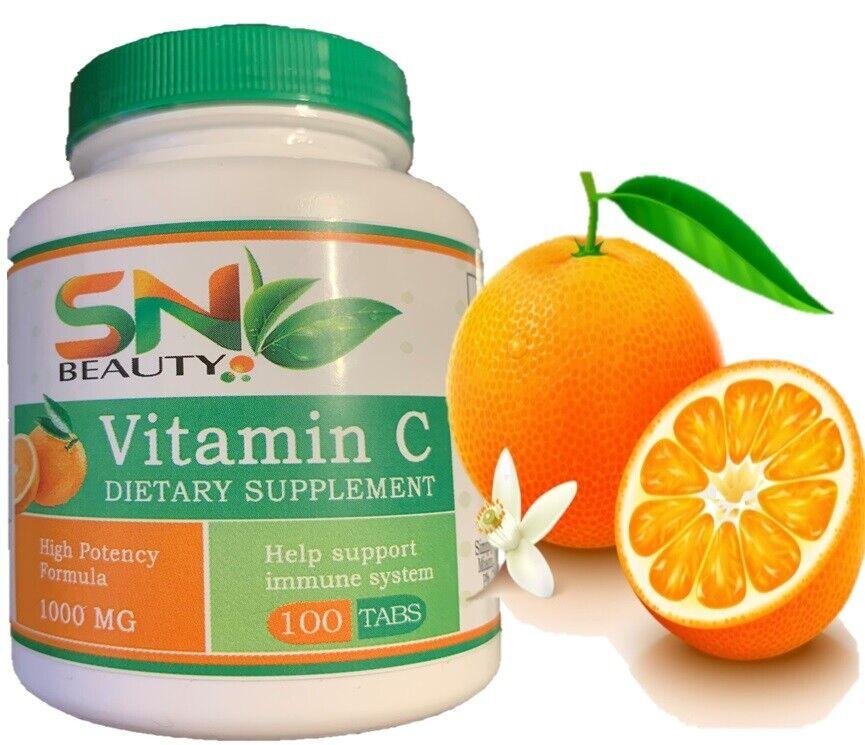 Vitamin C 1000mg 200 Tablets (6 Month's Supply) Ascorbic Acid  1