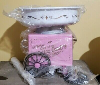 Nostalgia Electrics Cotton Candy Machine Maker Kids Party Carnival Purple