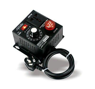 4000w Single-phase Motor Speed Governor Voltage Regulator Fan Speed Switch