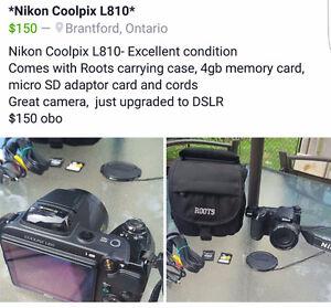 CAMERA - Nikon Coolpix L810