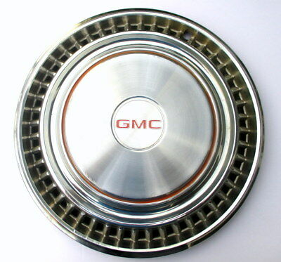 "Used 15"" GMC 1/2 ton pick up truck van 48 slot wheel cover 1975 - 1987 1980 1985"