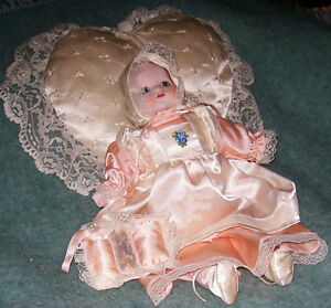 REDUCED!!!Vintage 12 in Porcelain Collector Doll