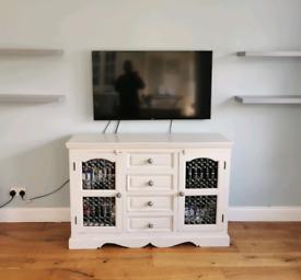 Sideboard Living Room TV Unit Storage Solid Wood Chic Dresser