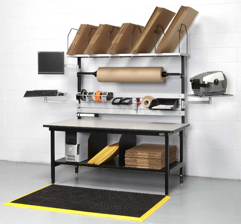 Packing Station Shipping Bench Shipping Receiving Desk