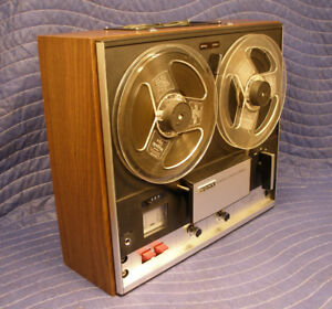 SONY TC-252D Reel to Reel Tape Deck Enregistreuse a bobine 7""