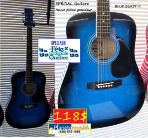 SPÉCIAUX ST-JEAN AUJOURD'HUI SEULEMENT - Guitares !!!!!