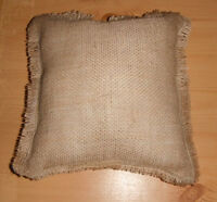 Selling Burlap Ring Pillow