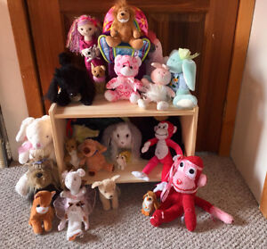 Stuffed animals - gently used and much loved!