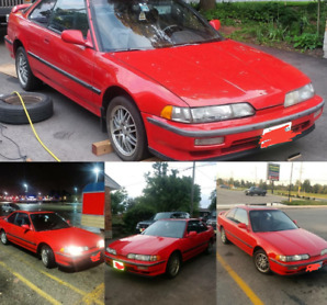 1990 Acura Integra GS Auto, AS IS no trades read the ad