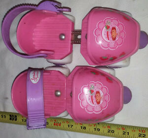 Kids Adjustable Sizes Pink Strawberry Short Cake Roller Skates