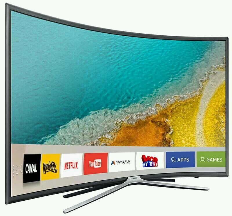 "Samsung 49"" curved Smart wifi tv LED 1080p Full HD Freeview Ue49k6300"