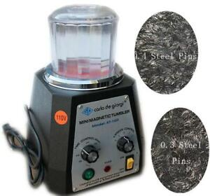 Magnetic Tumbler 100mm Jewelry Polisher(#160606)