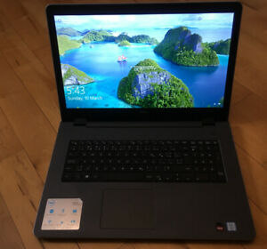 Laptop - Dell Inspiron 17 - ALMOST NEW! - PRESQUE NEUF!