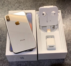 New iPhone X (64gb) Silver