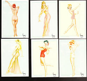 LARGE LOT 1995 VARGA PIN UP CARDS ~ 105 TOTAL ASSORTED