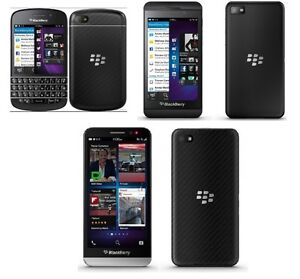 Blackberry Z30, Blackberry Q10 Bell, Blackberry Z10 Smartphones