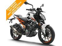2017 KTM 125 DUKE 17 ***WHITE ONLY***