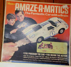 1970 Amaze-a-matics Ford Mark IV, the fantastic car with a brain