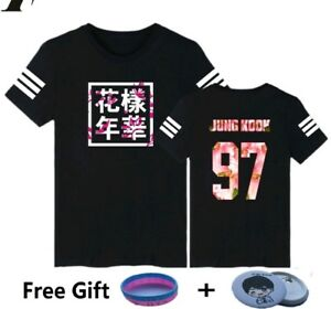BTS-T-Shirt-Jimin-V-Suga-Rap-Monster-J-Hope-and-Jong-Kook-plus-free-gift