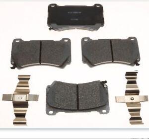 BRAKE PAD SET - Hyundai Genesis, front and rear by AC Delco