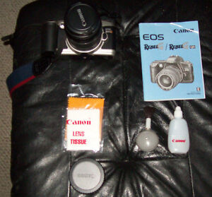 Canon RebelG EOS 35mm New Battery Working
