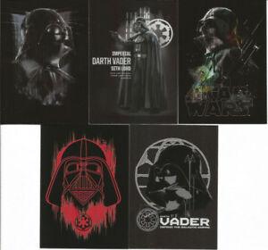 2016 Star Wars Rogue One Series1 Darth Vader Continuity Set OF 5