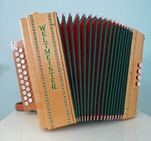 Weltmeister Diatonic Accordion