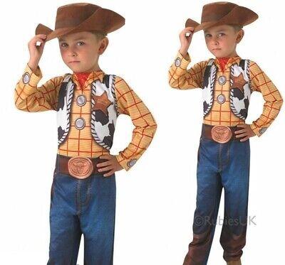 Klassisch Woody Jungen Kostüm Toy Story Kostüm Kinder Buch Tag - Klassische Buch Kostüm