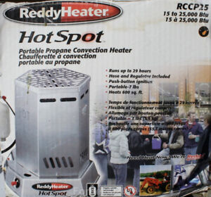 For Sale. Reddy Heater 25,000 BTU Propane Convection Heater