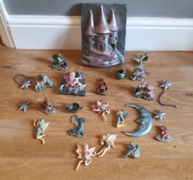 Fairy dragon unicorn ornaments figures wall plaques fairies all for £5