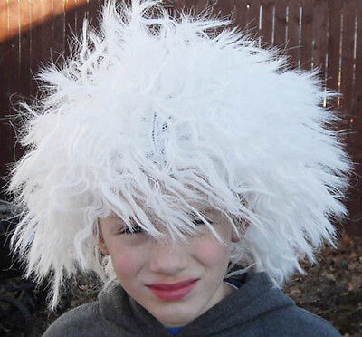Mad Scientist White Wig Einstein Child/Adult Costume Halloween