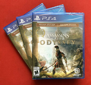 Assassin's Creed Odyssey Deluxe Edition - PS4 - Neuf Scellé