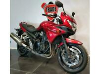 2015 15 SUZUKI GSF 1250 BANDIT S L5 NEW SHAPE ABS HPI CLEAR RED TRADE SALE 33K