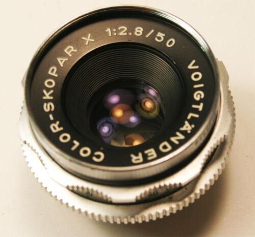 Voigtlander Color Skopar X 50mm f2.8 Lens DKL Mount Nice