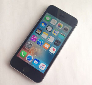 Apple iPhone 5S 16GB Space Gray Good Condition Bell/Virgin 150