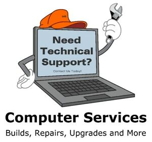 Computer Services. Builds, Repairs, Upgrades, and more.
