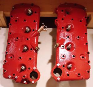 Antique Ford Flathead 24 bolt heads