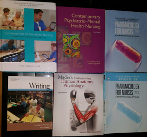 NURSING CENTENNIAL COLLEGE RPN/RN MEDICAL UNIVERSITY TEXTBOOKS
