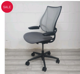 Humanscale Liberty Mesh chair fully loaded